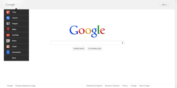 Get New Google Bar